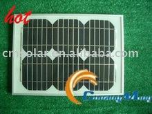 10w monocrystal solar panel