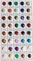 liste de couleur de pierres semi-précieuses | accessoire de perle de bijoux
