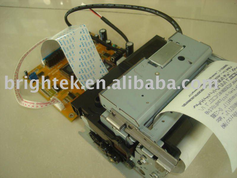 Cabeza de la impresora térmica, Mecanismo de la impresora térmica, Estación de la impresora