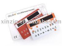 Mini Pocket Solar Card Calculator