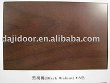 Door finish Black walnut-light