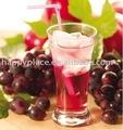 عصير الفواكه المركز وعصير العنب