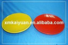 "Porcelain glazed plate/ 9"" round plate (113-103)"