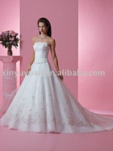 fairy from the dreamland in classic design bridal gown FOW-099