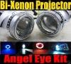 H4 HID Bi-xenon Projector Lens Light (Angel Eye)