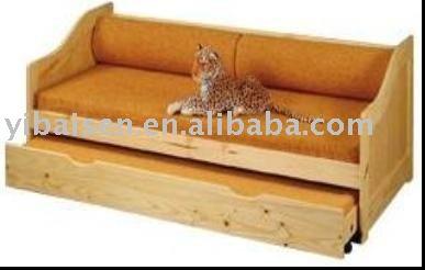 PINE SOFA BUNK BEDwooden solid wood furniture home bedroom furniture