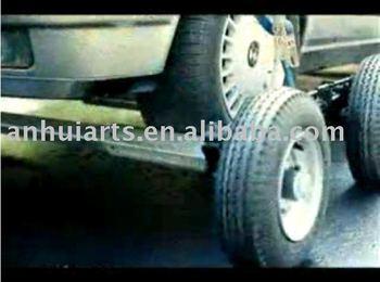 Ultra-Lightweight Aluminum-Wheel Self-Loading Dollie