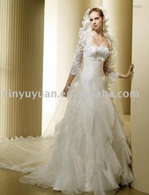 snow white fairy from the dreamland in wedding dress with bridal veil LSW-149