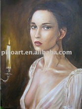 oil portrait painting,art from photo
