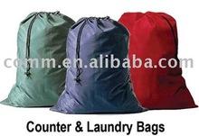 Promotional Nylon Laundry bag with drawstring