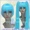 Cosplay wig with long clip pony tails YZF-7027