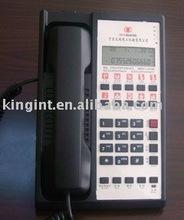 2 line Hotel room corded telephone (Golden Orange 6602(Black)-3