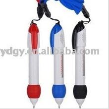Hanging ballpoint pens