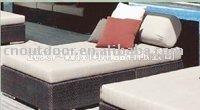 rattan sofa bed/rattan bed