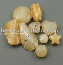 crackle acrylic bead,mixed shape