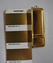 OEM gold leather USB flash driver low carbon USB stick