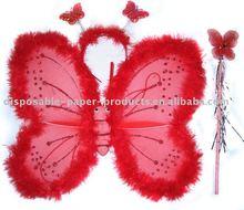fairy wings and tiara