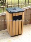plastic wood dustbin