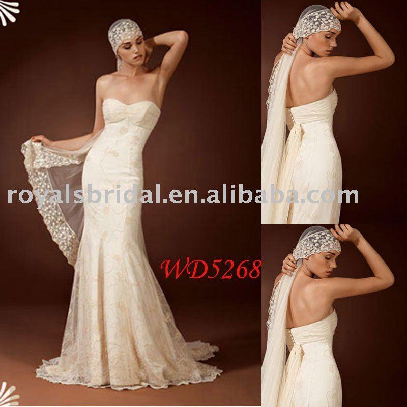 High Quality Lace Arabic Wedding dress WD5268