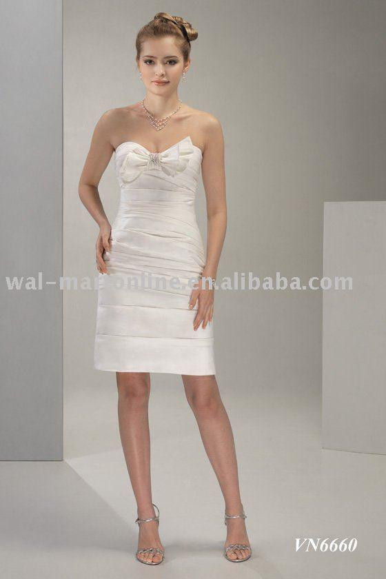 TWD052 Evening Dress Party dress Short Wedding Dress