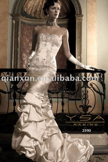 See larger image YSA Makino Wedding Dress Style WQ47