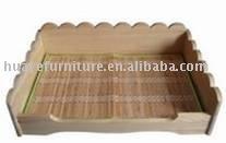 wood Pet bed