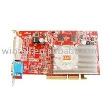 ORIGINAL ATI X1650 AGP REAL 512M/128B DDR2 VGA card