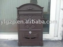 cast aluminium mailbox YL4010