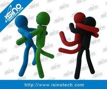 Fun USB, Soft Rubber Material Stick Figure, Hot Sale