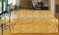 3 pc sólidos jacquard fundas sofá conjunto