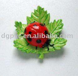 animal refrigeratory magnet,leaf fridge magnet,leaf refrigeratory magnet