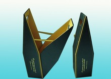 Promotional leather wine gift box