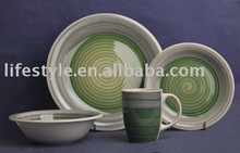 16pcs stoneware hand-painted dinner set
