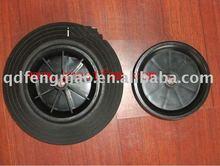 400-8 SOLID Trash Radern Trash ruote Trash wheels WHEEL BARROW pneumatic rubber wheel