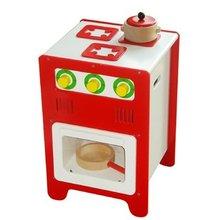 children kitchen wooden stove toy