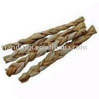 Cowhide and porkhide braids Dog Treat