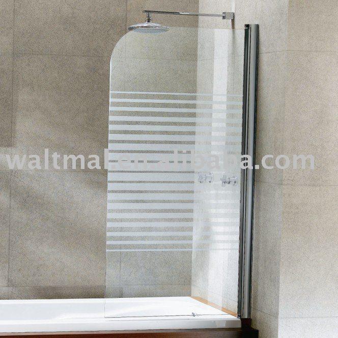 Porte de douche pour baignoire portes des salle de bains for Baignoire douche porte