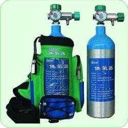 Aluminium Oxygen Gas cylinder--2L--1