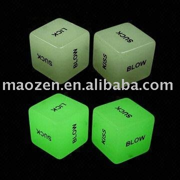 Dice (love dice, sexy dice, sex dice, adult dice) Available in various Sizes ...
