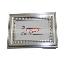 Brushed Metal Photo Frame Silver