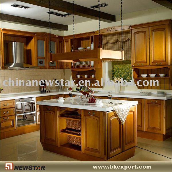 Gabinetes de cocina estilo americano cocinas - Voir des modeles de cuisine ...