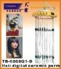 Ceramic hair perm machine