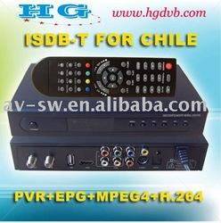 HG DVB ISDB-T 8301 FOR CHILE