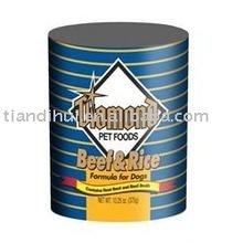 Beef & Rice Formula Canned Dog Food