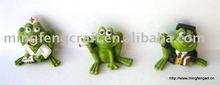 polyresin animal ---frog