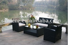 chaise longue / rattan dining table / rattan table