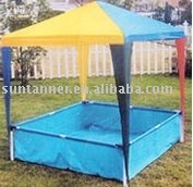 Kids gazebo & swimming pool