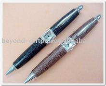 metal fashion shape multi-functional watch ball pen