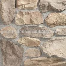 Beige culture stone