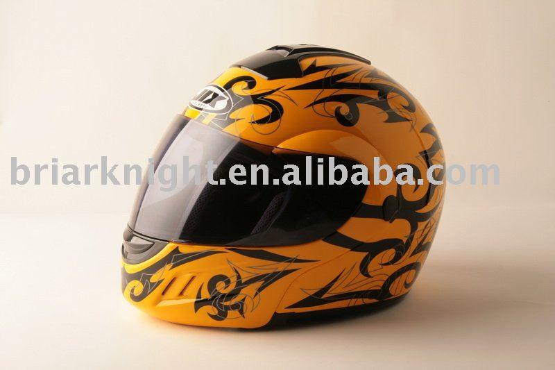 DOT flip-up helmet